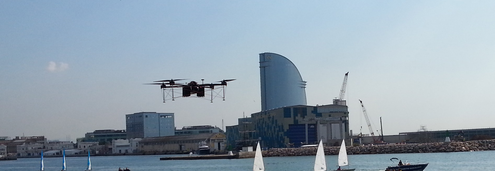 JULY, 2016 - FIRST TO LAUNCH A FUEL CELL POWERED UAV IN SPAIN